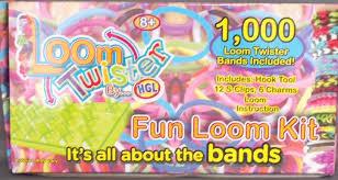 <b>Loom Twister</b> Fun <b>Loom</b> Kit (1000 Bands, S-Clips, Charms & <b>Loom</b>)