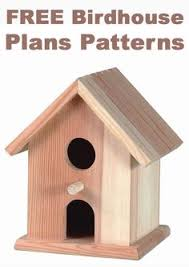 Great project for kids  I love the super simple birdhouse plans    FREE Birdhouse Plans Patterns