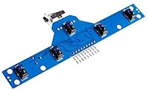 Smart Electronics <b>Five Road tracing</b> Module tracing Sensor Tracking ...