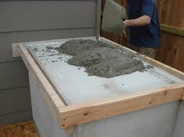 how to make kitchen cabinets: make them sturdy built outdoor concrete kitchen make them sturdy