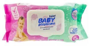 <b>Влажные салфетки Lure</b> Baby Play&Care — купить по выгодной ...