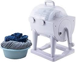 Manual Washing Machine <b>Portable 2-in</b>-1 Mini Washing Machine ...