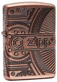 <b>Зажигалка Armor</b>™ <b>Gears</b> ZIPPO 29523 купить на Zippo.ru