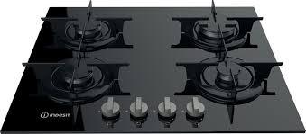 Встраиваемая <b>газовая варочная панель Indesit</b> PR 642 /I (BK), black