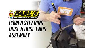 How To Assemble Earl's Power <b>Steering</b> Hose & Hose Ends ...