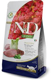 Сухой корм <b>Farmina N&D</b> Cat Grain Free Quinoa Digestion Lamb ...
