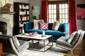 dazzling blue living room blue sharing room ideas blue and gray velvet sofa blue couch living room ideas