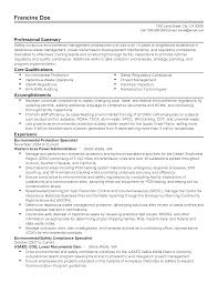 professional environmental protection specialist templates to professional environmental protection specialist templates to showcase your talent myperfectresume