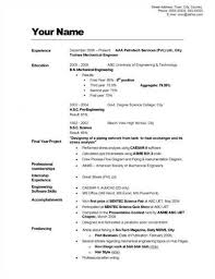 how to write a good resume   ehowhow to write a good resume  example of good resume