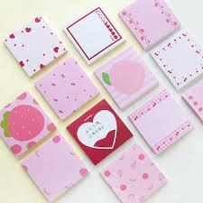 <b>50 sheets Cute</b> Girl Korean Sticky <b>Notes</b> Memo Pad Kawaii ...