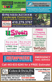 carry out flyers premier outdoor landscaping uspoon sample