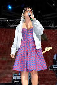 <b>Lily Allen</b> performing in a hoody - Suzy Del Campo — Google Arts ...
