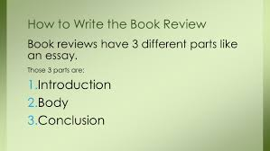 how to do a book review book reviews answer a big question given 4 book