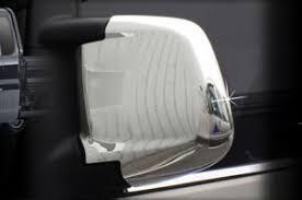 <b>Хромированные накладки на зеркала</b> без поворотника Autoclover