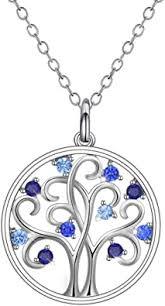 Amazon.com: <b>GW</b> Women <b>925</b> Sterling <b>Silver</b> Necklace AAA+ Zircon ...