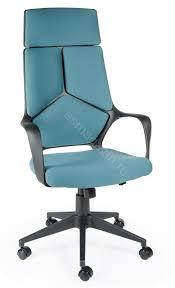 Купить <b>Кресло</b> Руководителя <b>IQ</b> (Black+blue) черный пластик ...