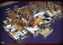 office floor plan 3d more bedroom plans iranews design office layout software free