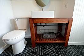 making bathroom cabinets: modern farmhouse bathroom vanity tutorial decor and the dog