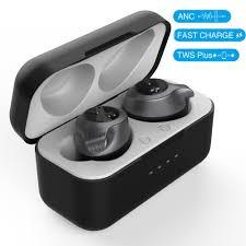 Black H1 <b>headset Bluetooth headset</b> ANC <b>active</b> noise reduction ...