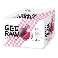 <b>Батончик фруктовый</b> Get Raw <b>Чернослив</b> и свекла (упаковка 22 ...