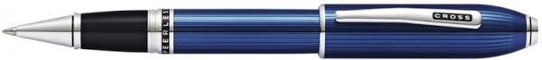 <b>Ручка</b>-<b>роллер Selectip</b> Cross <b>Peerless</b> Translucent Quartz Blue ...