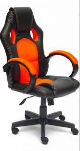 <b>Компьютерное кресло Tetchair RACER</b> GT Оранжевый/Черный ...