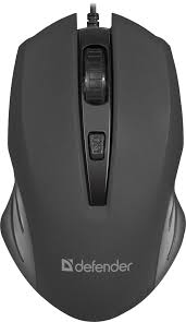 Проводная оптическая <b>мышь Defender Datum</b> MM-351 черный,4 ...