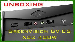 GreenVision GV CS <b>X03</b> 400W | Unboxing - YouTube
