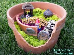 DIY Flower Pot Fairy Garden Craft   Садовые <b>фигурки</b>   Garden ...