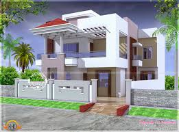 March   Kerala home design and floor plansNice modern house India See floor plans