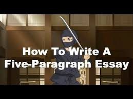 writing ninjas how to write a five paragraph essay   youtube writing ninjas how to write a five paragraph essay