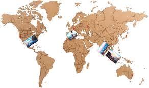 "<b>Пазл</b>-наклейка <b>Mimi</b> ""World Map True Puzzle"" 100х60 см ..."