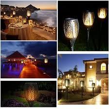 Shop 〖Follure〗<b>96 LED Solar</b> Torch Light Outdoor Waterproof ...