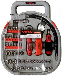 <b>Набор инструментов</b> (<b>головок и</b> бит) VIRA 62 (305007) – купить в ...