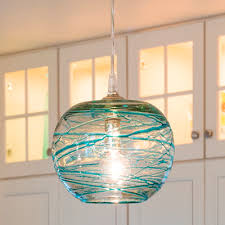 glass pendant lights beach house kitchen nickel oversized pendant