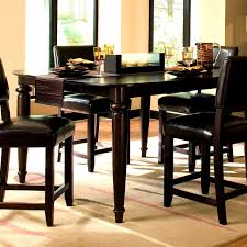 Target Dining Room Chair Furniture Splendid Tall Dining Room Table Black Sets Round