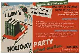 aall announcements llam online llam 2014 holiday party flyer