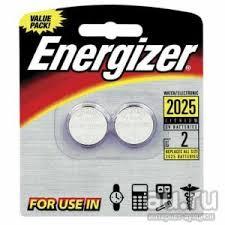 <b>Батарейка Energizer</b> Miniatures <b>Lithium CR2025</b> FSB2 — купить в ...