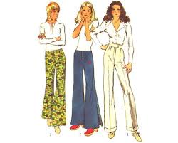 Image result for bell bottom jeans 1970s