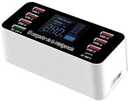 Alician Electronics for 8-USB <b>Ports Smart Socket Phone</b> Charger ...