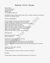 banking resume format examples narrative essay sample apa example for teller position winning of investment banking resume format