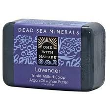 One with Nature, <b>Triple Milled Mineral</b> Soap Bar, Lavender, 7 oz ...