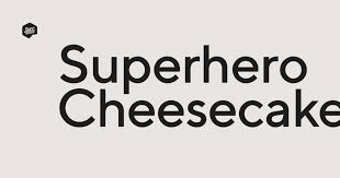 <b>Superhero</b> Cheesecake. Boutique Creative Studio.