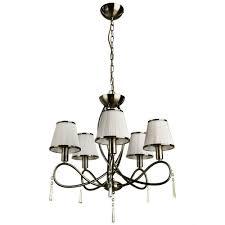 Подвесной светильник <b>Arte Lamp A1035LM</b>-<b>5AB</b>, белый — купить ...