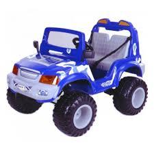 <b>Электромобиль</b> детский <b>CHIEN TI</b> CT-885RC Off Roader 4x4, синий