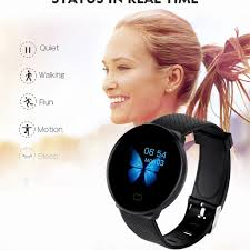 35# <b>D19</b> BT4.0 Men <b>Women</b> Sport <b>Smart Watch</b> Sleep Monitoring ...