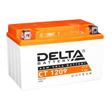 Стартерный аккумулятор <b>Delta</b> CT 1209 (12V / 9Ah) [YTX9, YTX9 ...
