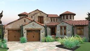 Tuscan Style House Plans  amp  Home Designs   House Designersimage of Vista Montagna House Plan