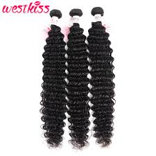 <b>Brazilian Deep Wave Bundles</b> 26 28 30 32 34 36 38 40 Inch Long ...