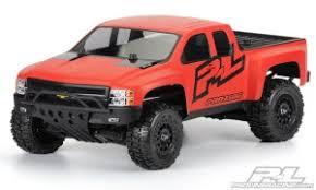 Неокрашенный <b>кузов Proline Chevy Silverado</b> для моделей ...